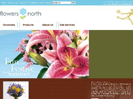 Flowers North (867-873-3511) - Website thumbnail - http://www.flowersnorth.com/