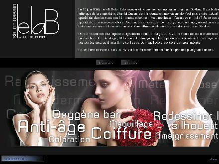 Salon Le Lab (450-581-1187) - Onglet de site Web - http://www.lelab.ca
