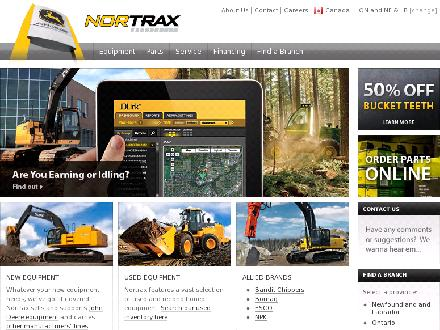 Nortrax (709-634-3161) - Website thumbnail - http://www.nortrax.ca