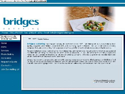 Bridges Catering (780-425-0173) - Website thumbnail - http://www.bridgescatering.ca