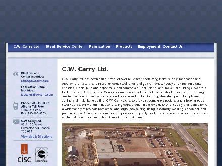 C W Carry Ltd (780-613-0154) - Website thumbnail - http://www.cwcarry.com