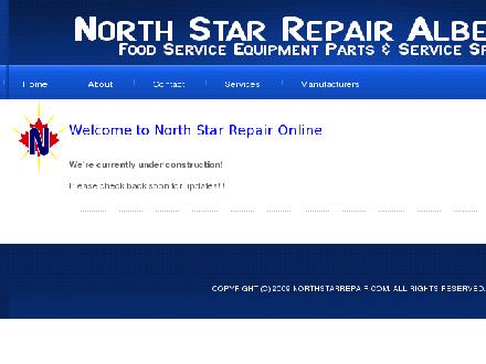 North Star Repair Alberta Ltd (780-453-6213) - Onglet de site Web - http://www.northstarrepair.com
