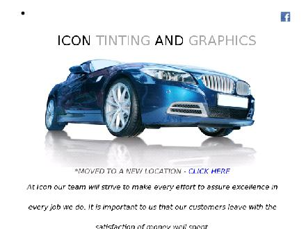Icon Tinting &amp; Graphics (403-291-0616) - Onglet de site Web - http://www.icontintingandgraphics.com