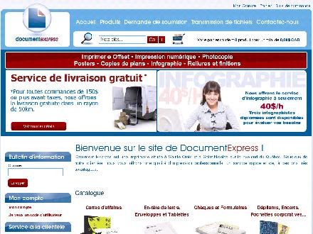 Document Express (418-926-3970) - Website thumbnail - http://www.documentexpress.qc.ca