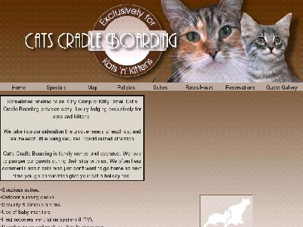 Cat's Cradle Boarding Kennel 2006 (204-897-6945) - Onglet de site Web - http://www.catscradlekennel.ca