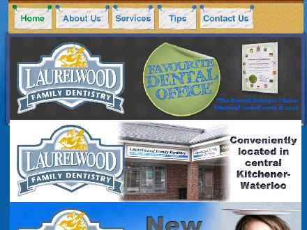 Laurelwood Family Dentistry (226-214-4624) - Website thumbnail - http://www.laurelwooddentistry.com/