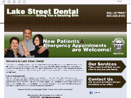 Lake Street Dental (289-273-6238) - Onglet de site Web - http://lakestreetdental.ca