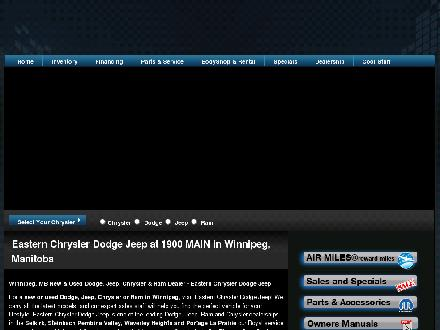 Eastern Chrysler Dodge Jeep Inc (204-339-2011) - Onglet de site Web - http://www.easternchrysler.com