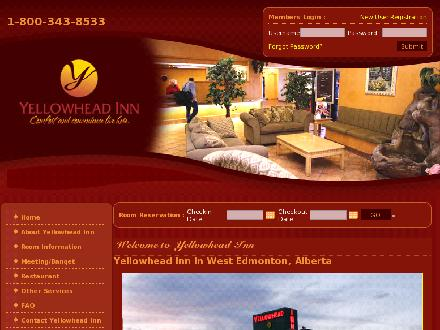 Yellowhead Motor Inn (780-447-2400) - Onglet de site Web - http://www.yellowheadinn.com