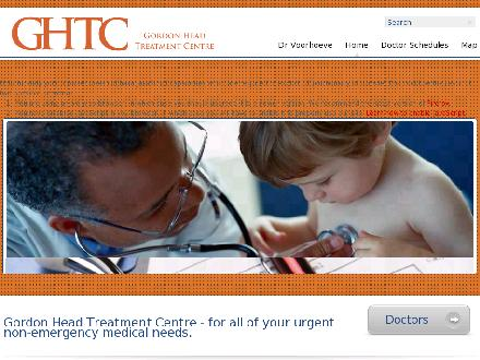 Gordon Head Treatment Centre (250-477-4777) - Website thumbnail - http://www.ghtc.ca