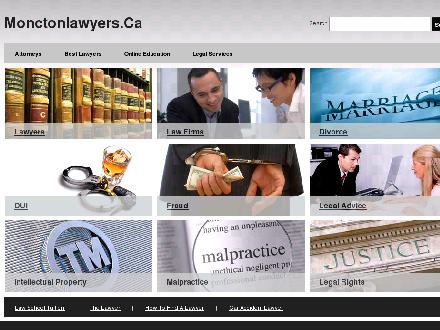 Ellsworth Johnson Phillips (506-800-1989) - Onglet de site Web - http://www.monctonlawyers.ca