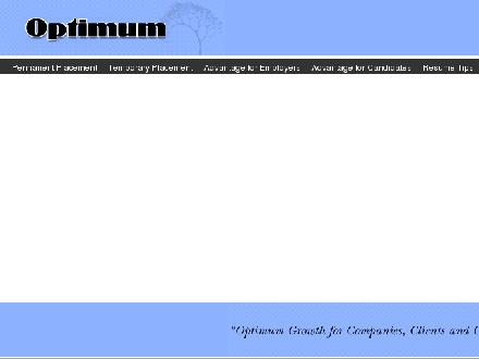 Optimum Agence De Placement (514-683-1057) - Website thumbnail - http://www.optimumpersonnel.com