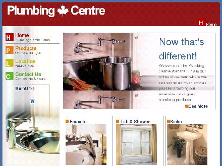 Plumbing Centre (905-560-0061) - Website thumbnail - http://www.plumbingcentre.com