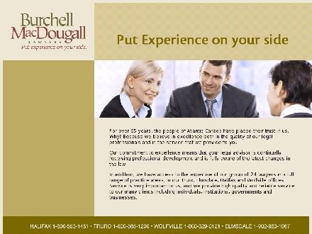 Burchell MacDougall (1-866-549-4838) - Onglet de site Web - http://www.burchellmacdougall.com