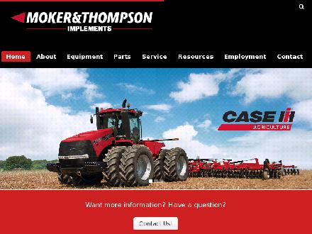 Moker &amp; Thompson Implements Ltd (306-763-6454) - Onglet de site Web - http://www.mokerthompson.com