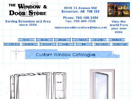 Window & Door Store (Edmonton) Ltd The (780-468-3456) - Website thumbnail - http://www.windowanddoorstore.com