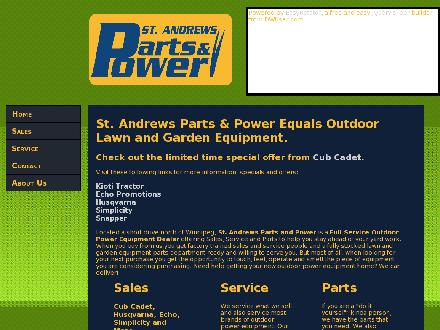 St Andrews Parts & Power (204-953-0030) - Onglet de site Web - http://www.standrewspartsandpower.ca
