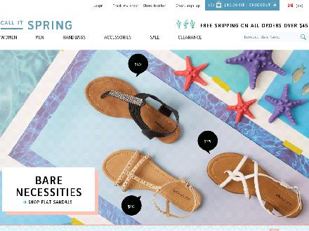 Myspringshoes.com - Onglet de site Web - http://www.myspringshoes.com