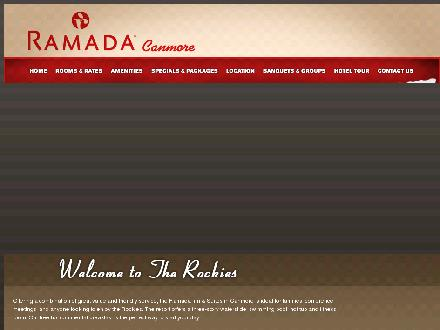 Ramada Inn &amp; Suites (403-609-4656) - Onglet de site Web - http://www.ramadacanmore.com
