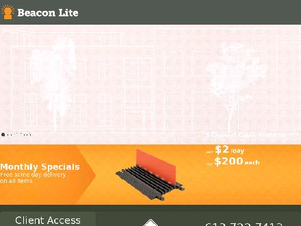 Beacon Lite Ltd (613-699-0774) - Website thumbnail - http://www.beaconlite.ca