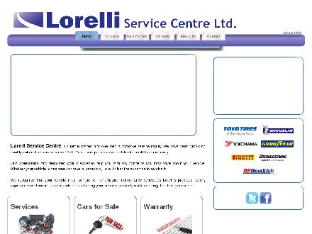 Lorelli Service Centre Ltd (613-236-5236) - Onglet de site Web - http://www.lorelliservice.com