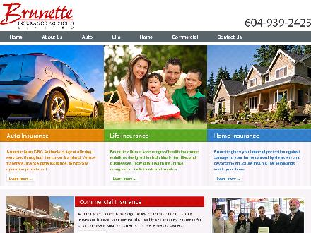 Brunette Insurance Agencies Ltd (Div of AMC Insurance Services) (604-937-1454) - Onglet de site Web - http://www.brunetteinsurance.ca