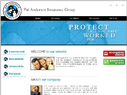 Pat Anderson Agencies (604-430-8887) - Website thumbnail - http://www.patand.com