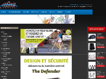 ABC Cycles & Sports Ltée (438-804-4524) - Onglet de site Web - http://www.abccycles.com