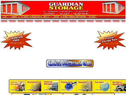 Guardian Storage (226-773-0997) - Website thumbnail - http://www.guardian-storage.com