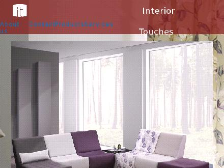 Interior Touches Design Boutique (204-256-8851) - Onglet de site Web - http://www.interiortouches.ca/