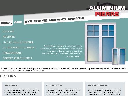 Aluminium Pierre (450-436-7863) - Onglet de site Web - http://www.aluminiumpierre.com