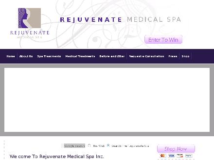 Rejuvenate Medical Spa (519-745-9900) - Onglet de site Web - http://www.rejuvenatemedspa.ca