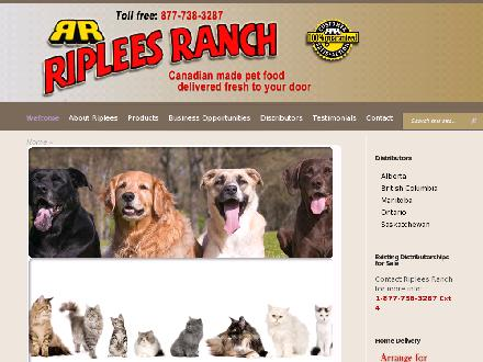 Riplees Ranch Feed & Pet Supply (604-636-8002) - Onglet de site Web - http://www.ripleesranch.com