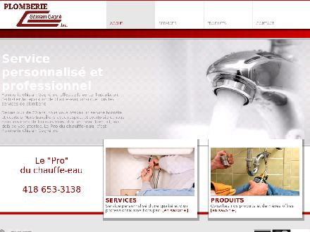 Plomberie Ghislain Gagn&eacute; Inc (418-653-3138) - Onglet de site Web - http://plomberiegagne.com