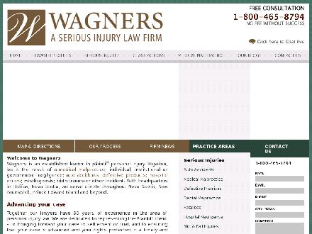 Wagners (1-800-465-8794) - Onglet de site Web - http://www.wagners.co