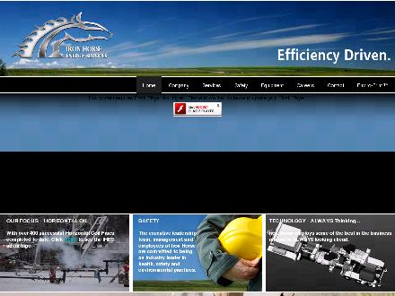 Iron Horse Energy Services (403-526-4600) - Website thumbnail - http://www.ihes.ca