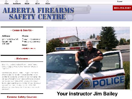 Alberta Firearms Safety Centre (403-680-9487) - Onglet de site Web - http://firearmssafety.ca/