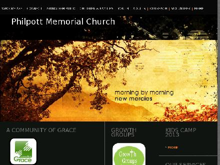 Philpott Memorial Church (905-523-7000) - Website thumbnail - http://www.getchurch.org