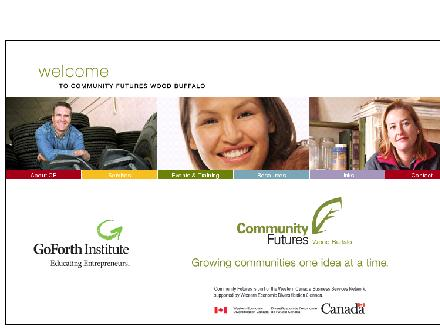 Community Futures Wood Buffalo (780-762-0022) - Website thumbnail - http://www.cfwb.ca