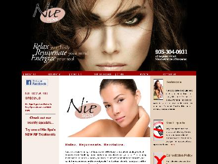 National Institute Of Esthetics (905-304-0931) - Website thumbnail - http://www.niespa.com