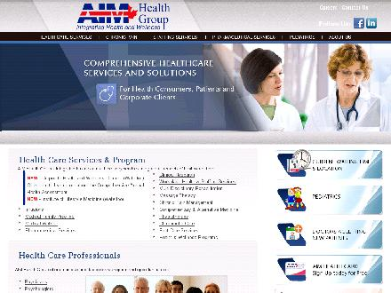 AIM Health Group-Trainyards (613-731-4770) - Onglet de site Web - http://www.aimhealthgroup.com