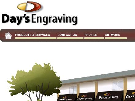 Day's Engraving (2008) Ltd (780-401-9823) - Website thumbnail - http://www.daysengraving.com