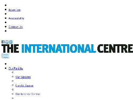 International Centre (905-677-6131) - Onglet de site Web - http://www.internationalcentre.com