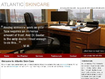 Atlantic Skin Care Inc (902-465-4536) - Onglet de site Web - http://atlanticskincare.com