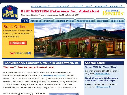 Best Western Bakerview Inn (604-852-5362) - Website thumbnail - http://www.bestwesternbakerview.com