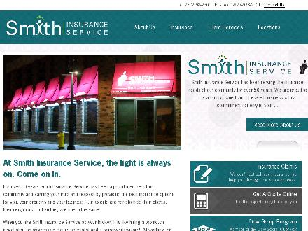 Smith Insurance Service (780-997-9999) - Onglet de site Web - http://www.smithinsuranceservice.com