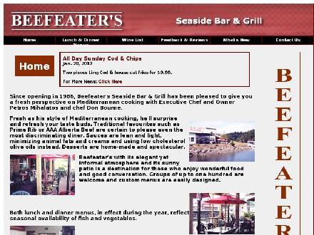 Beefeater's Chop House & Grill (250-753-2333) - Website thumbnail - http://www.beefeaters.ca