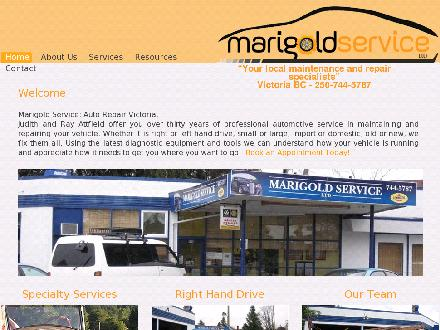 Marigold Service Ltd (250-744-5787) - Onglet de site Web - http://www.marigoldservice.ca