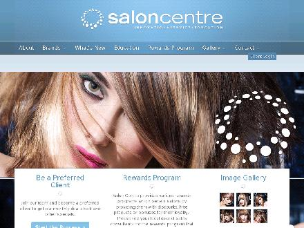 Salon Centre (204-786-0001) - Website thumbnail - http://www.saloncentre.ca