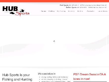 Hub Sports (604-859-8316) - Website thumbnail - http://www.hubsports.com